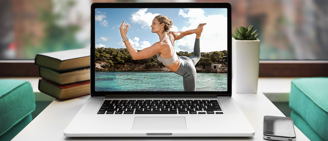 Online Yoga with gyana yoga.